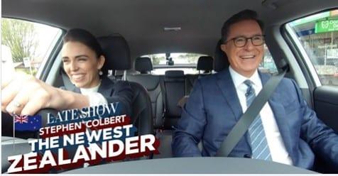 """Stephen Colbert the Newest New Zealander"""